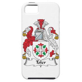 Escudo de la familia de Toler Funda Para iPhone 5 Tough