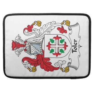 Escudo de la familia de Toler Funda Para Macbook Pro