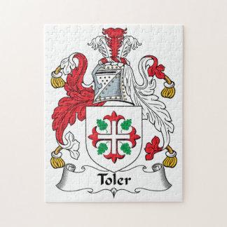Escudo de la familia de Toler Puzzles