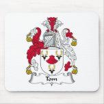 Escudo de la familia de Tom Tapetes De Ratón