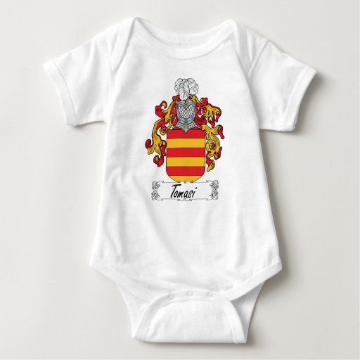 Escudo de la familia de Tomasi Camisetas