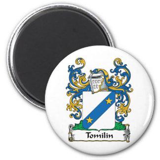 Escudo de la familia de Tomilin Imán Redondo 5 Cm