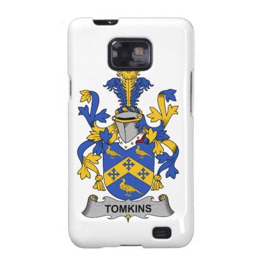 Escudo de la familia de Tomkins Samsung Galaxy SII Carcasas
