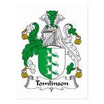 Escudo de la familia de Tomlinson Postal