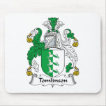 Escudo de la familia de Tomlinson Alfombrillas De Raton