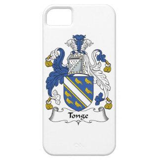 Escudo de la familia de Tonge iPhone 5 Case-Mate Cárcasa