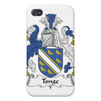 Escudo de la familia de Tonge iPhone 4/4S Fundas