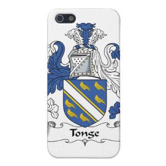 Escudo de la familia de Tonge iPhone 5 Coberturas