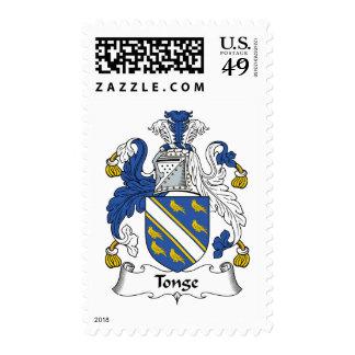 Escudo de la familia de Tonge Envio