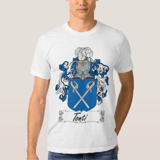 Escudo de la familia de Tonti Camisas