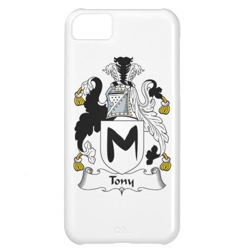 Escudo de la familia de Tony Funda Para iPhone 5C