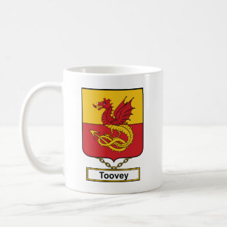 Escudo de la familia de Toovey Taza Clásica