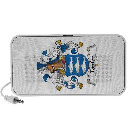 Escudo de la familia de Topfer iPod Altavoz