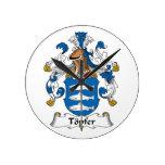 Escudo de la familia de Topfer Reloj