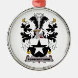 Escudo de la familia de Tordenstierne Ornamento De Navidad