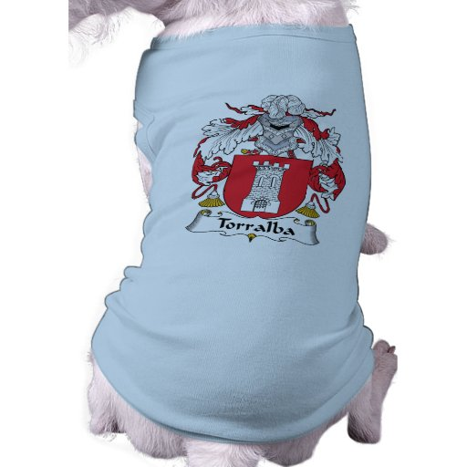 Escudo de la familia de Torralba Camiseta De Perrito