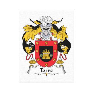 Escudo de la familia de Torre Impresión En Lienzo Estirada