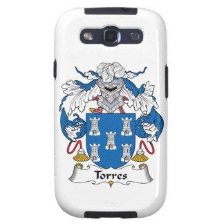 Escudo de la familia de Torres Galaxy S3 Funda