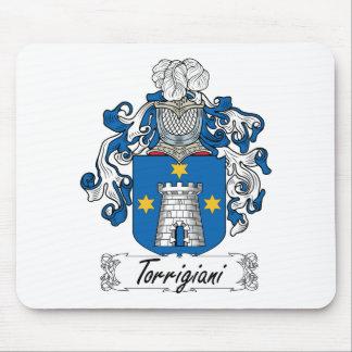 Escudo de la familia de Torrigiani Alfombrillas De Ratones