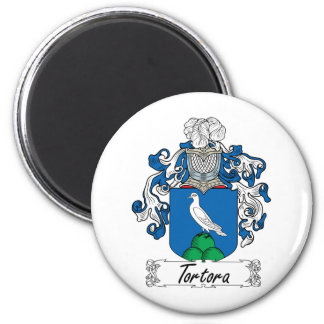 Escudo de la familia de Tortora Imán Redondo 5 Cm