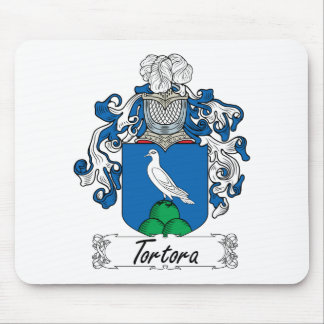 Escudo de la familia de Tortora Tapetes De Ratones