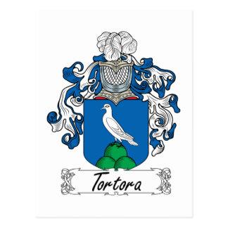 Escudo de la familia de Tortora Tarjeta Postal