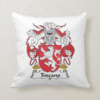 Escudo de la familia de Toscano Cojin