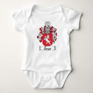 Escudo de la familia de Toscano Tee Shirt