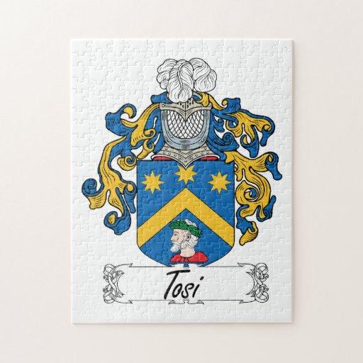 Escudo de la familia de Tosi Rompecabeza