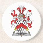 Escudo de la familia de Touchet Posavasos Manualidades