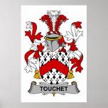 Escudo de la familia de Touchet Poster