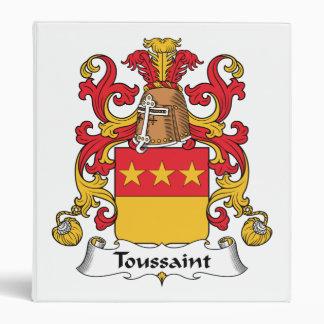 Escudo de la familia de Toussaint