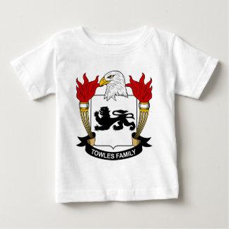 Escudo de la familia de Towles Playera De Bebé