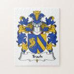 Escudo de la familia de Trach Rompecabezas Con Fotos