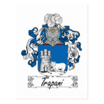 Escudo de la familia de Trapan Tarjetas Postales