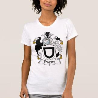 Escudo de la familia de Travers Camiseta