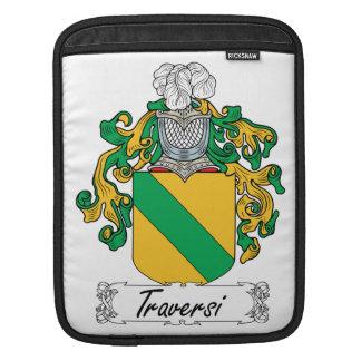 Escudo de la familia de Traversi Fundas Para iPads