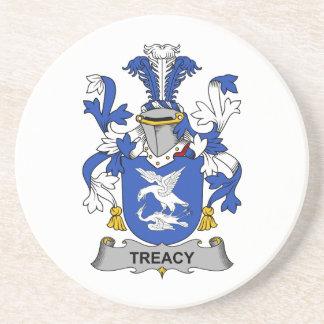 Escudo de la familia de Treacy Posavasos Manualidades