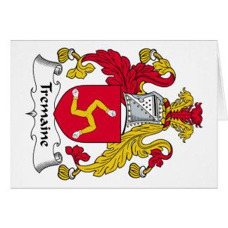 Escudo de la familia de Tremaine Tarjeton