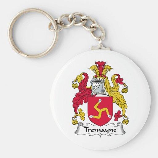 Escudo de la familia de Tremayne Llaveros Personalizados