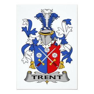 Escudo de la familia de Trent Comunicados Personalizados
