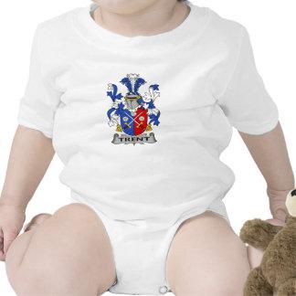 Escudo de la familia de Trent Traje De Bebé