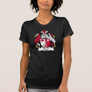 Escudo de la familia de Trent Camisetas