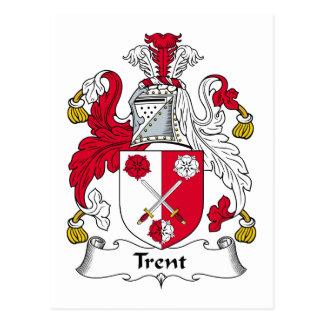 Escudo de la familia de Trent Postal