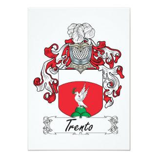 Escudo de la familia de Trento Comunicados