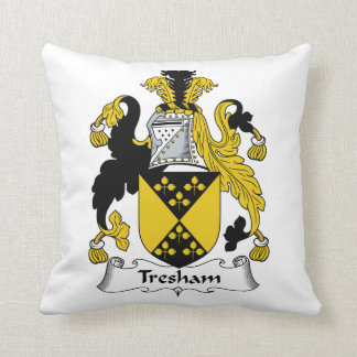 Escudo de la familia de Tresham Cojín