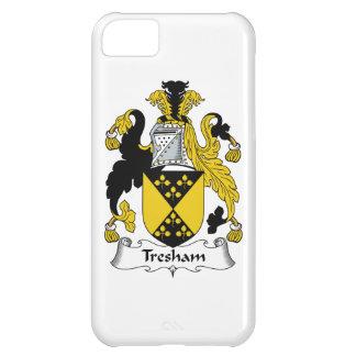 Escudo de la familia de Tresham Funda Para iPhone 5C