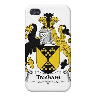 Escudo de la familia de Tresham iPhone 4 Fundas
