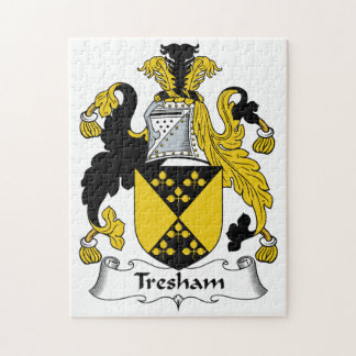 Escudo de la familia de Tresham Rompecabeza Con Fotos
