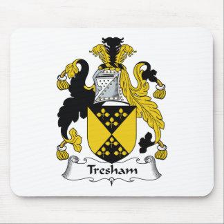 Escudo de la familia de Tresham Tapete De Ratones